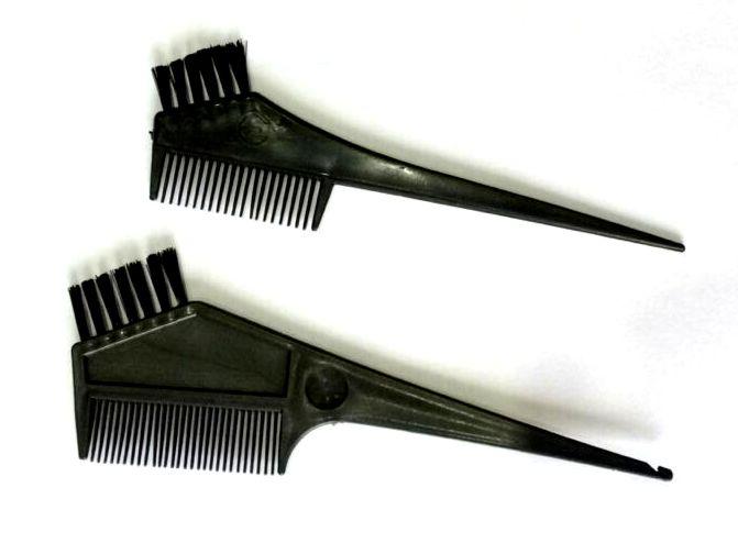 Mini Tint Brush Comb Combination Mini Color App Brush Its