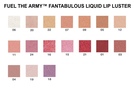 Lux Gloss by Fuel the army