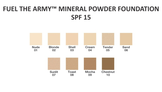 FUEL THE ARMY COSMETICS